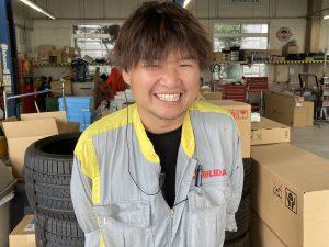笑顔で語るユーピット秦野の小林氏